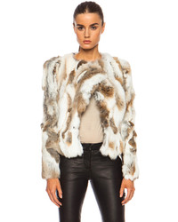 Isabel Marant Anise Steppe Fur Jacket