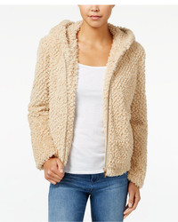Collection B Faux Fur Boucl Coat
