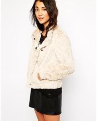 Esprit Faux Fur Jacket