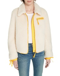 Tory Burch Faux Shearling Jacket