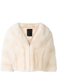 Liska Cropped Fur Jacket