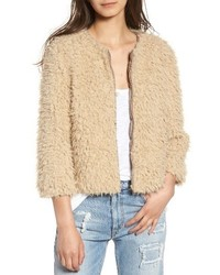 Macy faux fur jacket medium 6447972