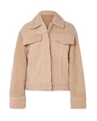 Kenzo Trucker Reversible Shearling Jacket
