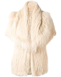 Yves Salomon Meteo By Rabbit Fur Jacket