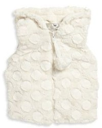 Toddlers Little Girls Faux Fur Vest