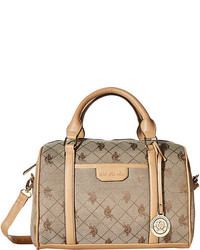 Logo jacquard satchel medium 339085