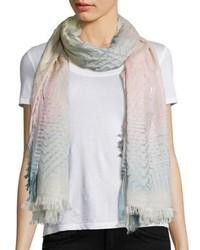 Geometry cotton scarf medium 1197799