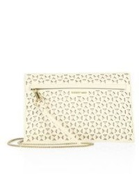Elizabeth and James James Perforated Leather Crossbody