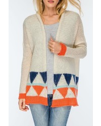 Wooden Ships Knitted Geo Cardigan