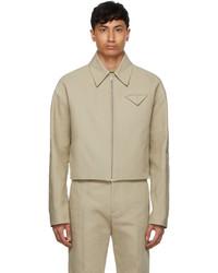 Bottega Veneta Beige Cotton Jacket