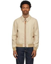 Tom Ford Beige Viscose Blouson Jacket