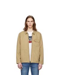 Levis Beige Waller Worker Jacket