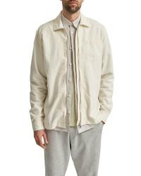 Selected Homme Dayton Linen Organic Cotton Shirt Jacket