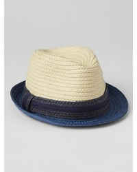 Gap Colorblock Straw Fedora