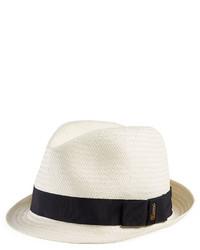 0c1eafaa6fe90 Gucci Kids Woven Fedora Hat Natural