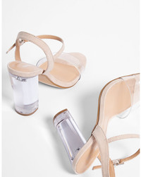 Lucite heeled sandals medium 5026305