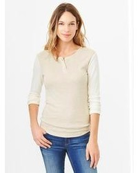 Gap Supersoft Colorblock Henley