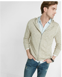 Express Full Zip Hooded Sweater