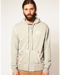 Men's Beige Hoodies by True Religion | Men's Fashion