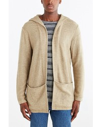 Urban Outfitters Koto Arkashe Open Front Hooded Cardigan