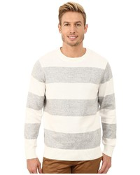 Nautica 9 Gauge Snow Stripe Crew