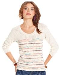 American Rag Multicolor Crew Neck Sweater