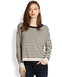Demy Lee Demylee Alexa Striped Cashmere Sweater