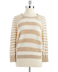 Jessica Simpson Striped Loose Knit Sweater