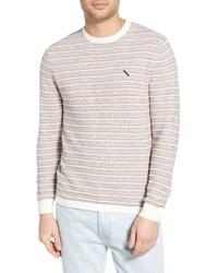 Saturdays Nyc Lee Stripe Crewneck Sweater