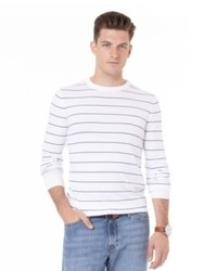 Nautica Striped Crew Neck Sweater