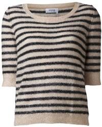 Sonia Rykiel Sonia By Horizontal Stripe Sweater