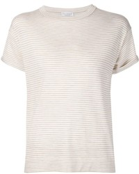 Brunello cucinelli striped t shirt medium 453123