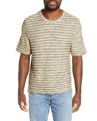 Frye Stripe Jacquard Regular Fit T Shirt