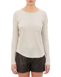 Stripe long sleeve t shirt medium 87267