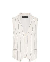 Haider Ackermann Sleeveless Striped Waistcoat