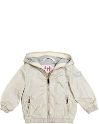 Il Gufo Nylon Cotton Jersey Windbreaker Jacket