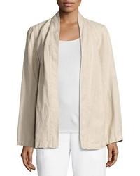 Undyed organic linen kimono jacket medium 3680263