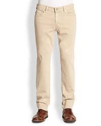 How to Wear Beige Jeans (30 looks) | Men's Fashion