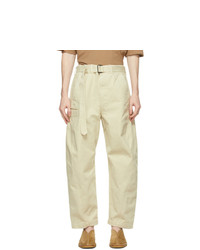 Lemaire Off White Twisted Jeans