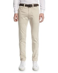 Loro Piana Stache B Slim Straight Jeans