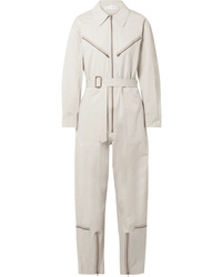 TRE by Natalie Ratabesi Pigalle Cotton Blend Twill Jumpsuit
