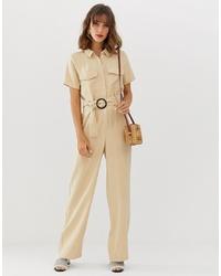 Vero Moda Pocket Detail Wide Leg Jumpsuit
