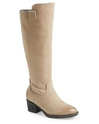 Beige knee high boots original 1552065