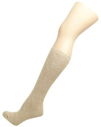 Dorothy Perkins Oatmeal Knit Knee High Socks