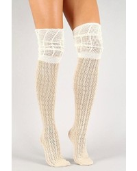 Girly thigh high socks medium 344838