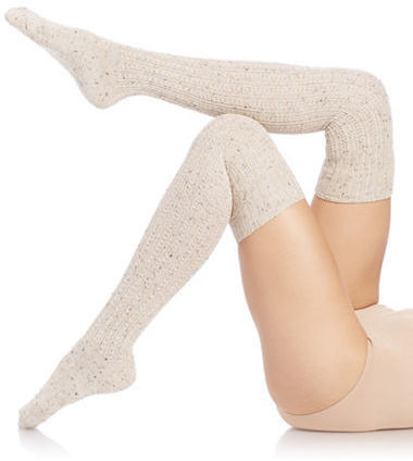Free People Thigh High Speckle Socks