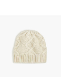 Cable hat in italian wool blend medium 956991