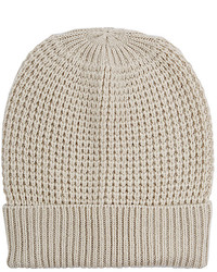 Barneys New York Waffle Stitched Wool Cashmere Beanie