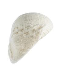 Helen Kaminski Cable Knit Wool Beret