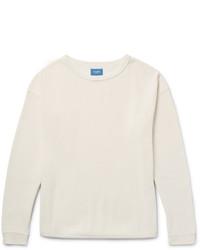 Beams Japan Waffle Knit Cotton T Shirt